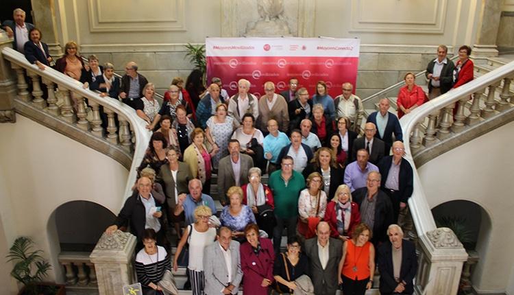 foto de participantes en el proyecto Mayores Movilizados