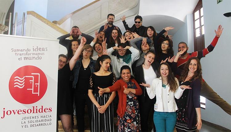 foto del grupo en el proyecto Move It