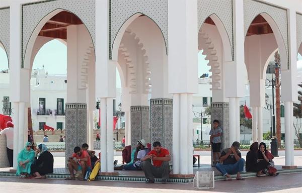 foto de gente en país árabe