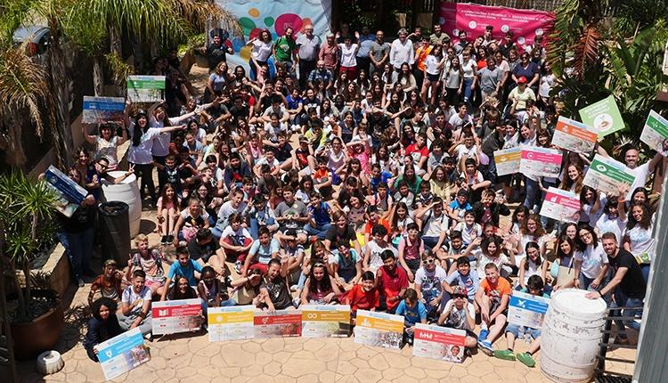 Foto del grupo en el encuentro de La Caja