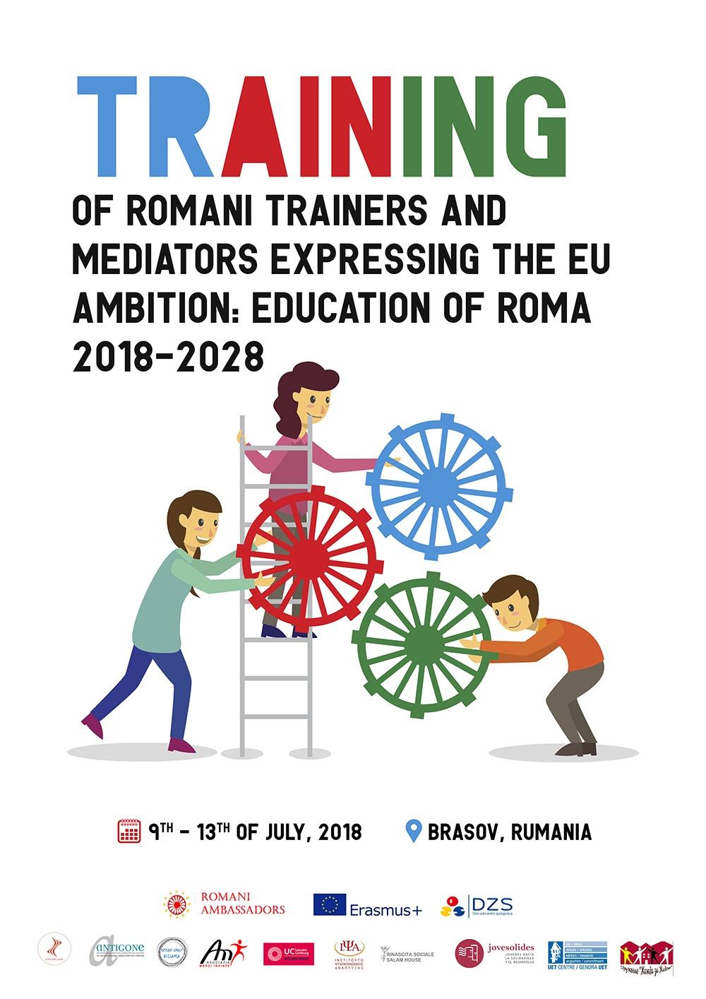 cartel del proyecto romani